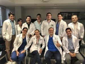 Grupo del Curso Internacional de ginecología estética